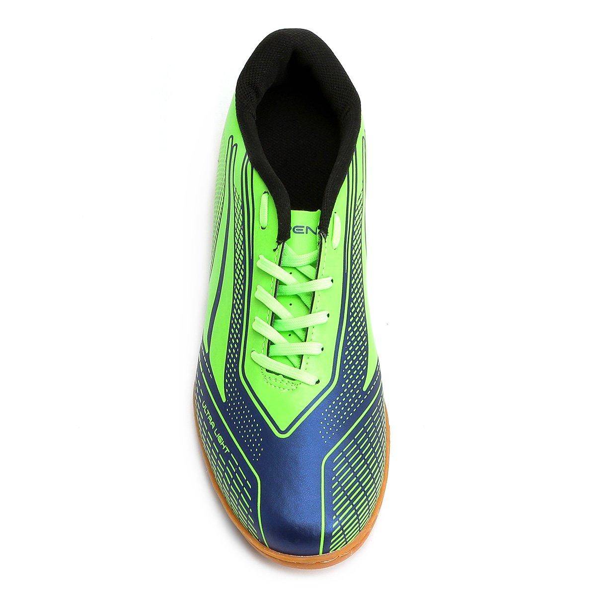 Chuteira Futsal Penalty Storm Speed 7 Masculina - Verde - Compre ... 9ae6354119815
