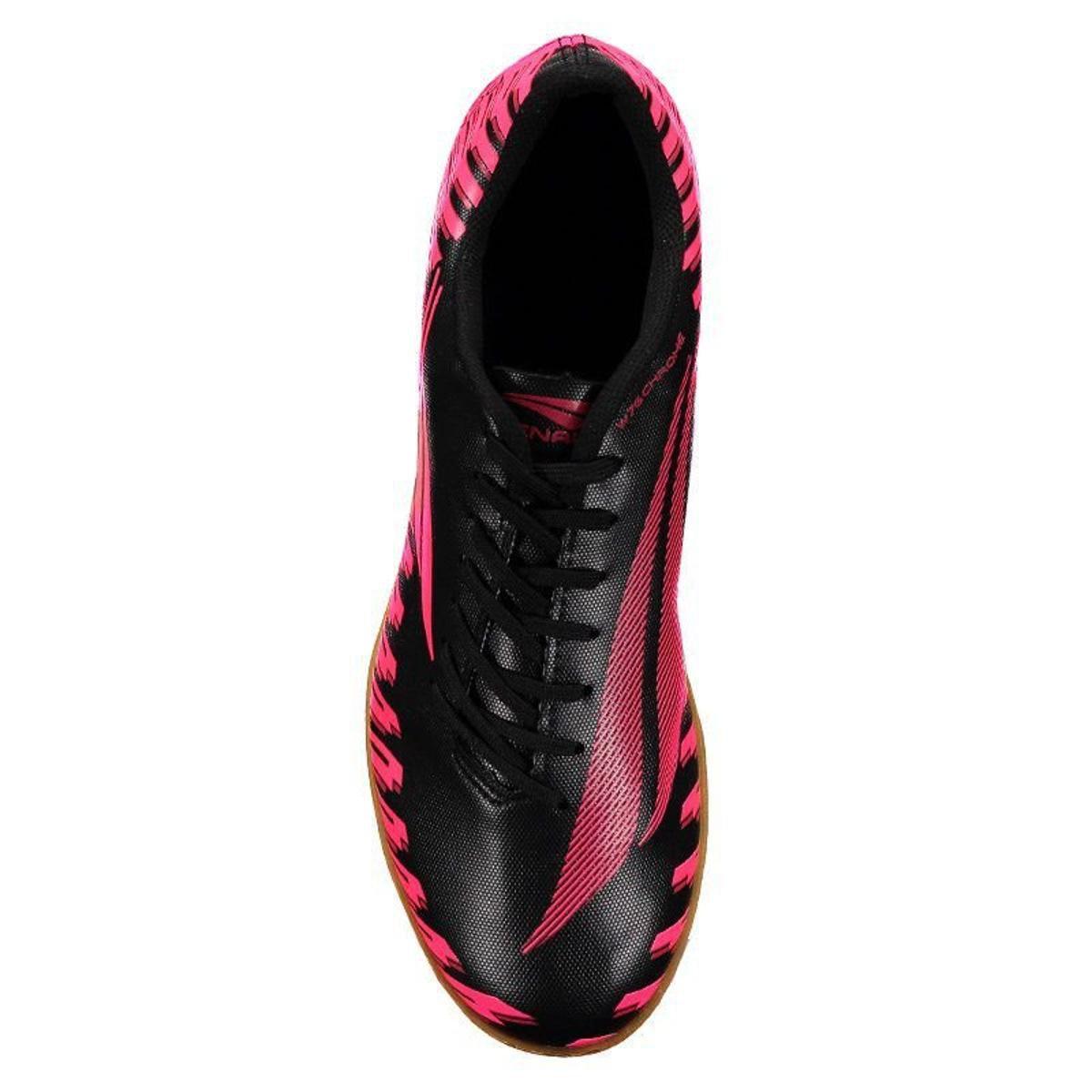 Chuteira Futsal Penalty Storm Speed IX Masculina - Preto e Rosa ... 4a3f3a2d8a46d
