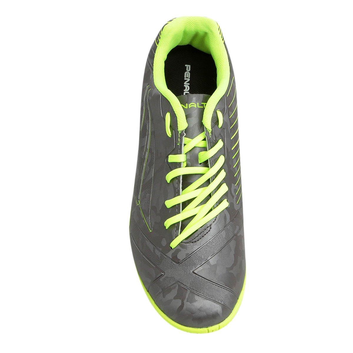 defcfea0ce Chuteira Futsal Penalty Victoria RX VIII - Amarelo - Compre Agora ...