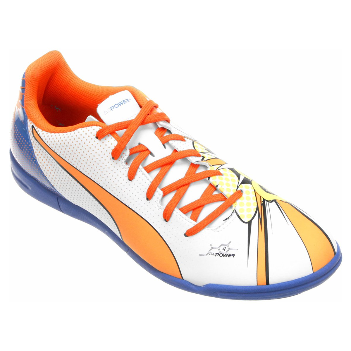 169d1782b Chuteira Futsal Puma Evopower 4.2 Pop IT Masculina