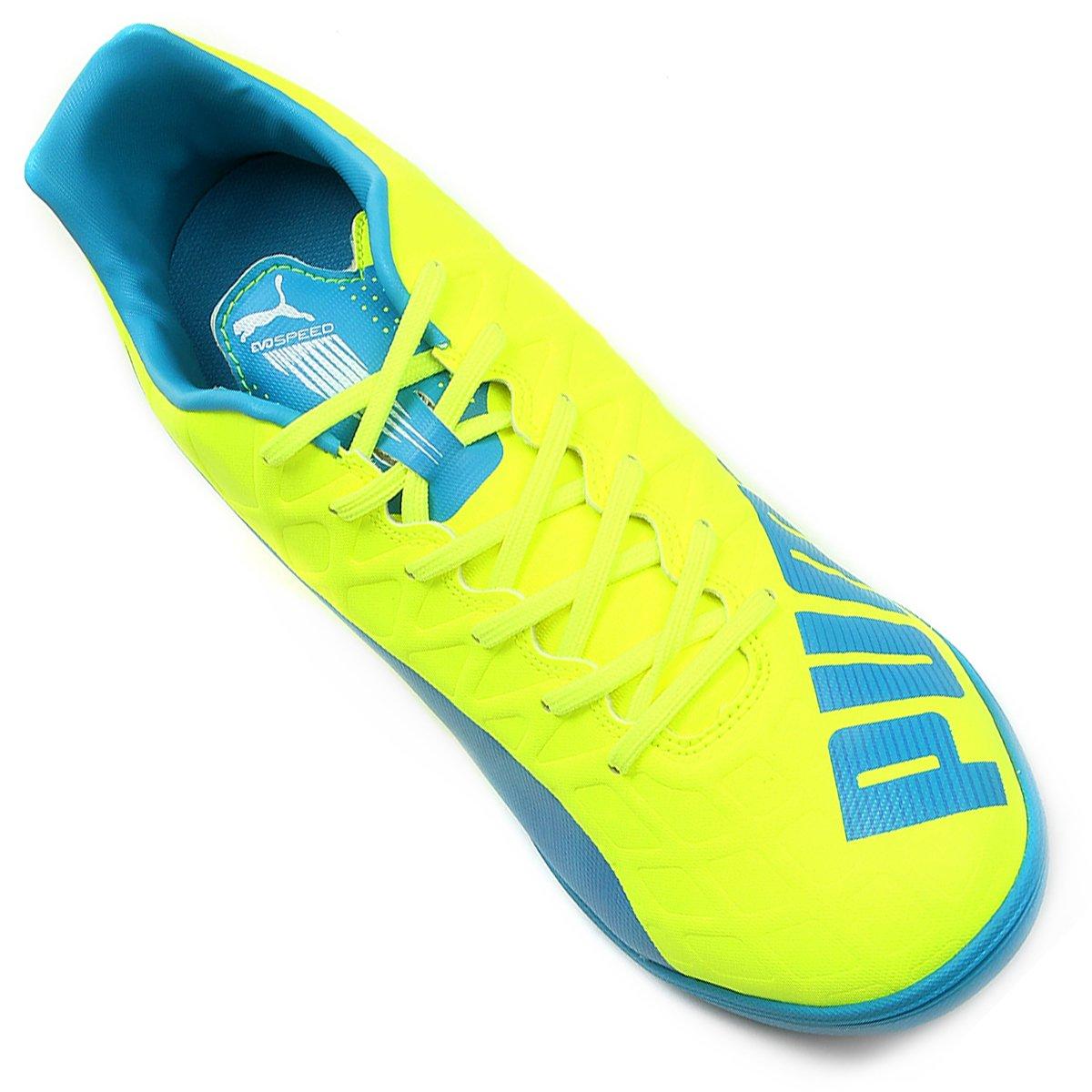 Chuteira Futsal Puma Evospeed 4.4 IT Masculina - Compre Agora  3506d2e4074fd
