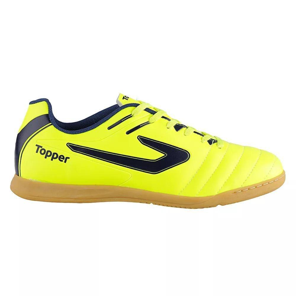 Chuteira Futsal Topper Boleiro Infantil  Chuteira Futsal Topper Boleiro  Infantil ... 2111a8d75a0d2
