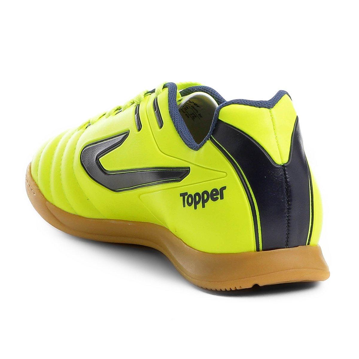 Chuteira Futsal Topper Boleiro - Marinho - Compre Agora  399f1954f7c4e