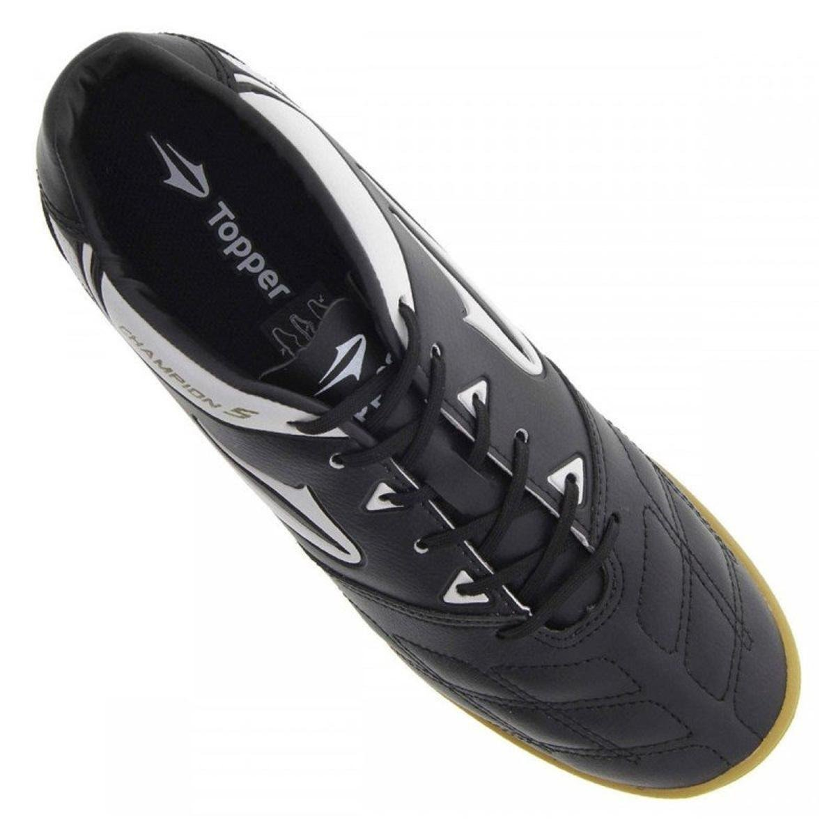 Chuteira Futsal Topper Champion 5 4136534 - Compre Agora  04afcdf9ecf8a