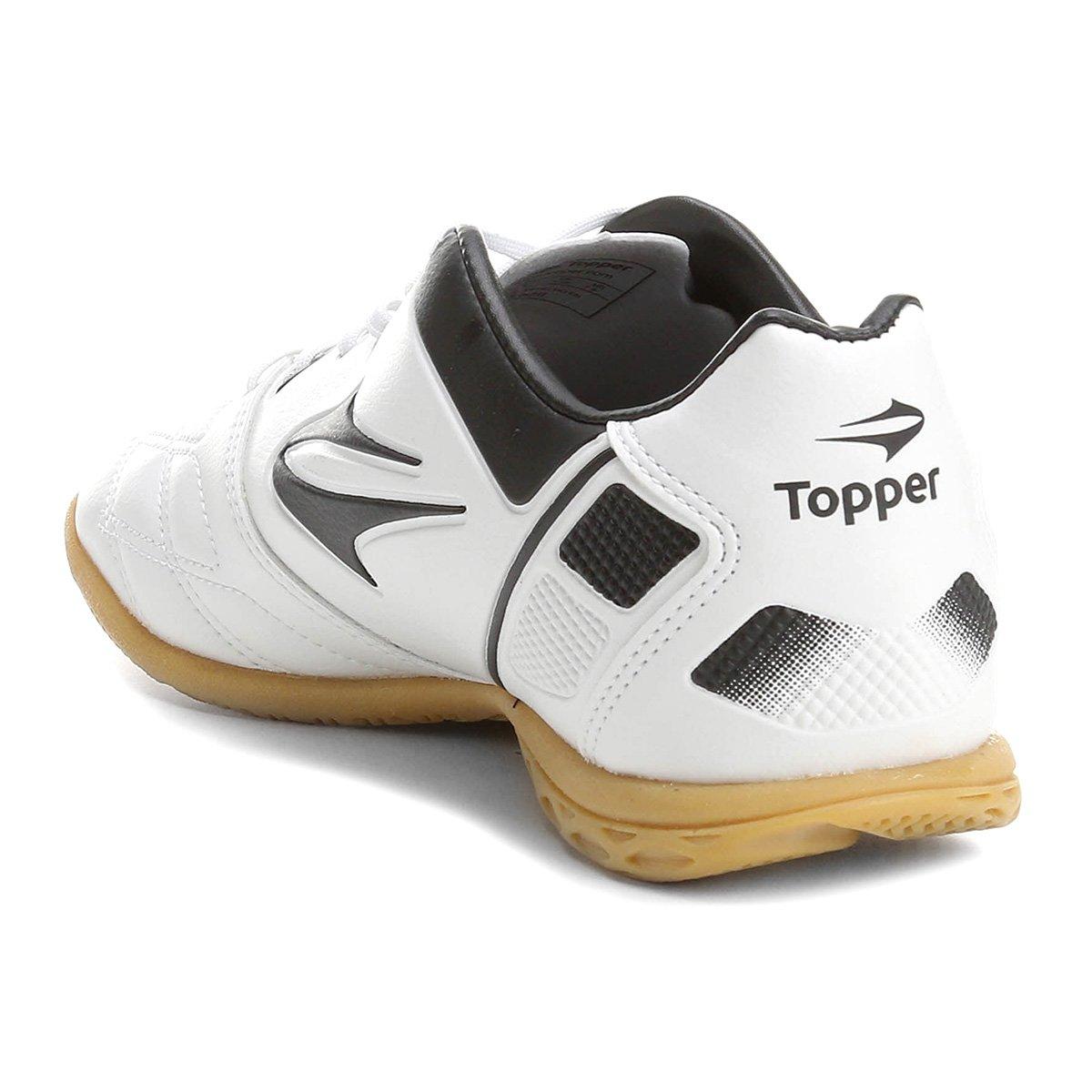0d12a8b74b Chuteira Futsal Topper Champion 5 - Compre Agora