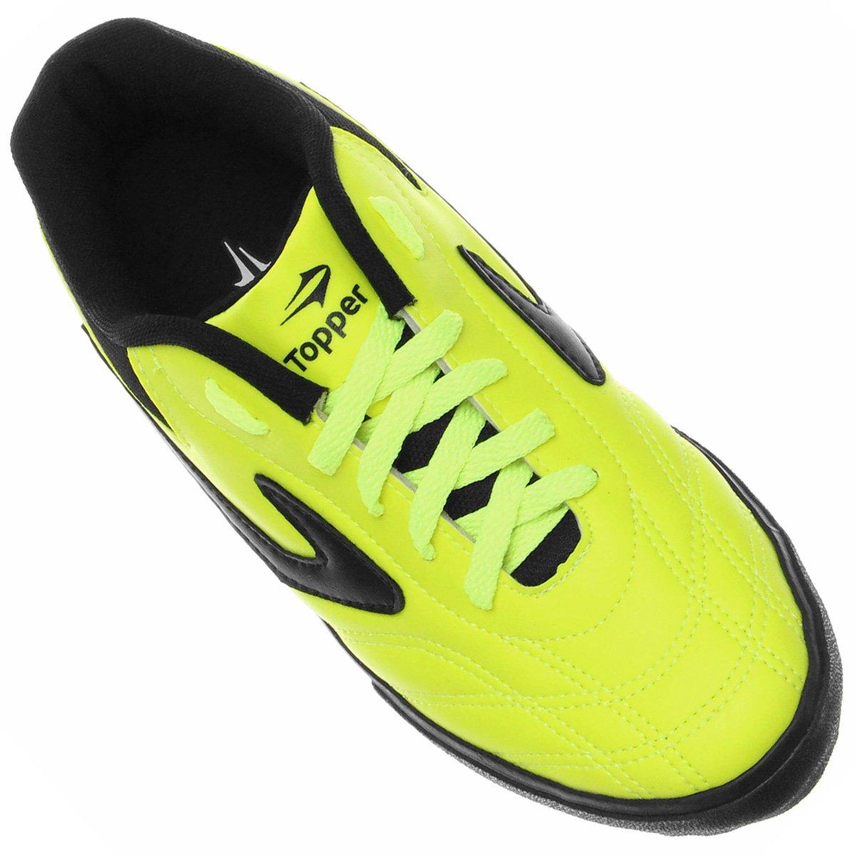 4bec9066c1 Chuteira Futsal Topper Dominator 3 - Preto - Compre Agora