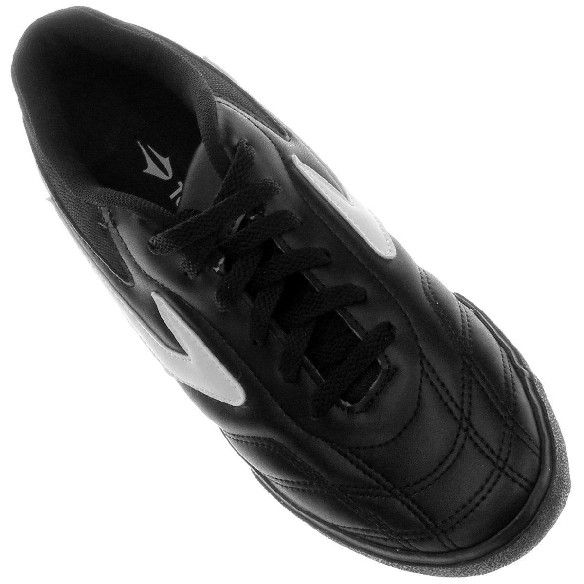 Chuteira Futsal Topper Dominator 3 - Preto e Branco - Compre Agora ... 2893513fa28c8
