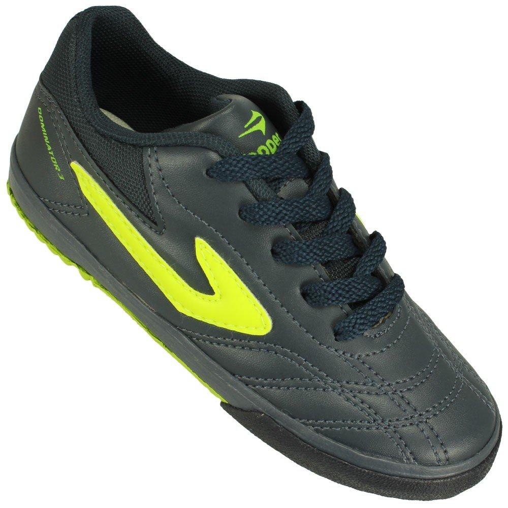 830d0d92a1 Chuteira Futsal Topper Dominator III Juvenil - Compre Agora