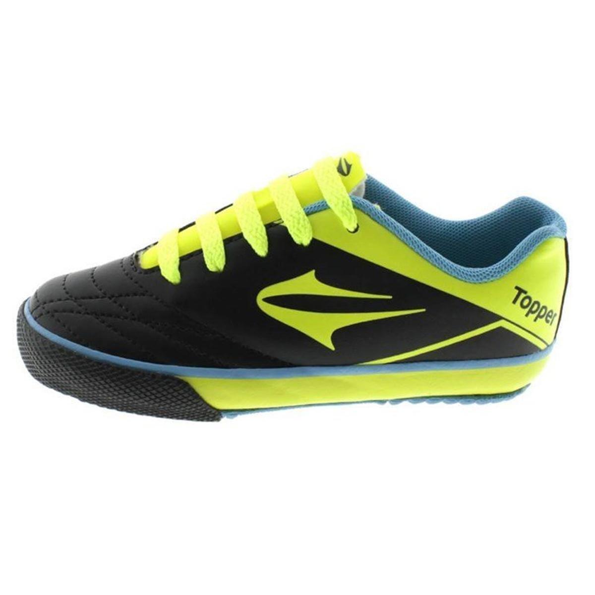 Chuteira Futsal Topper Frontier VII Infantil Masculina - Compre ... 3a5b81d586c1f