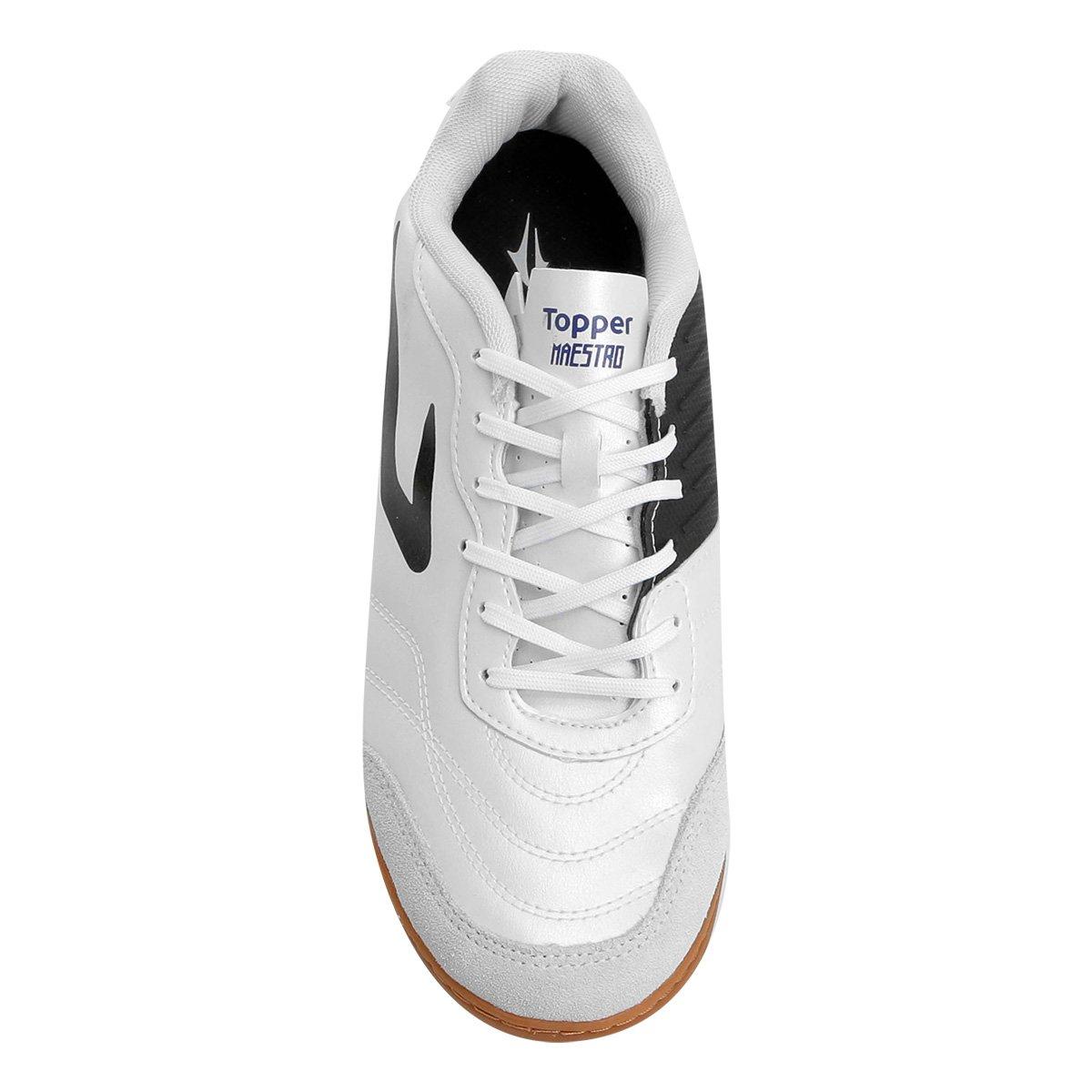 Chuteira Futsal Topper Maestro TD - Compre Agora  ff367686a74e3