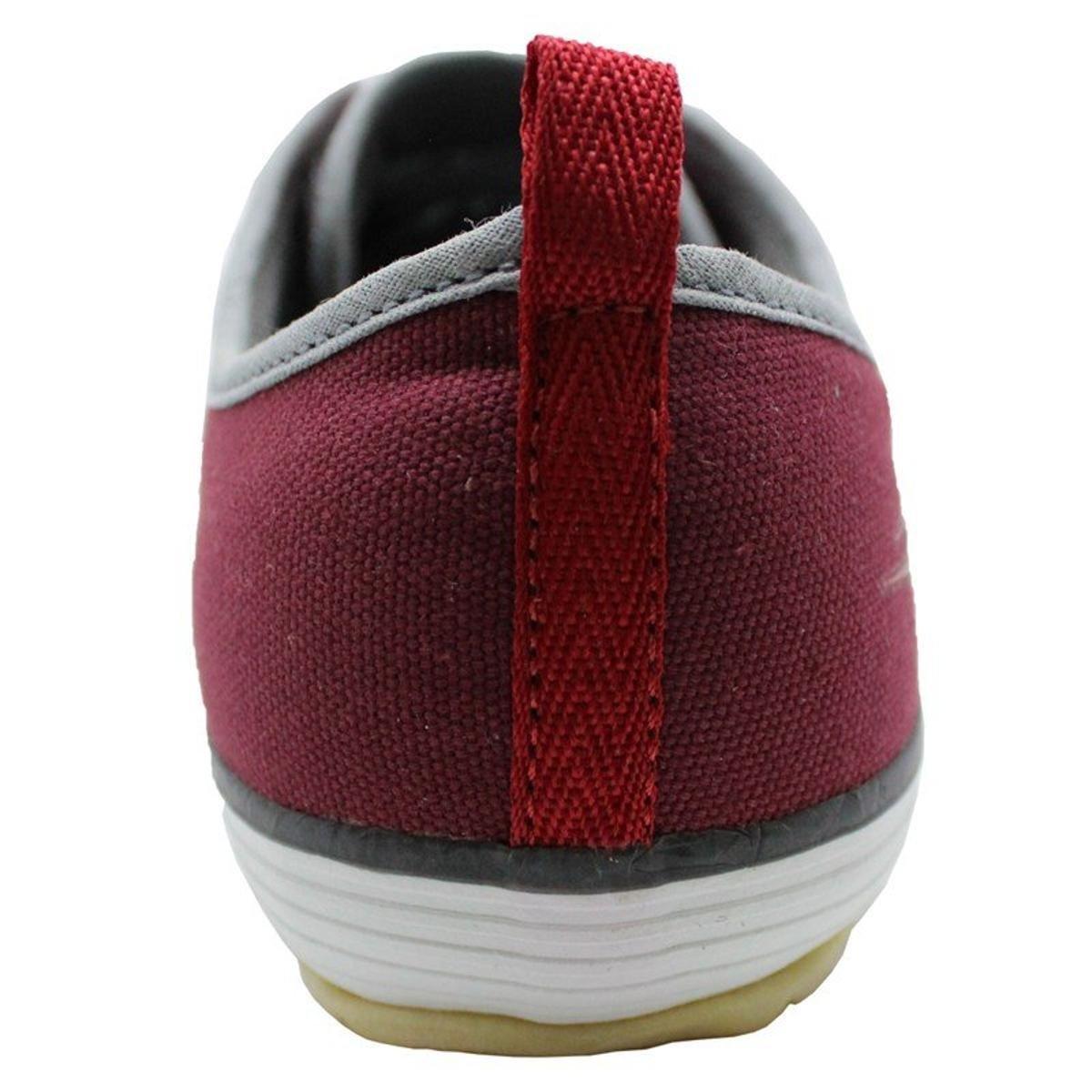 Chuteira Futsal Topper New Casual 4 Masculina - Bordô - Compre Agora ... 688b54cce39fb