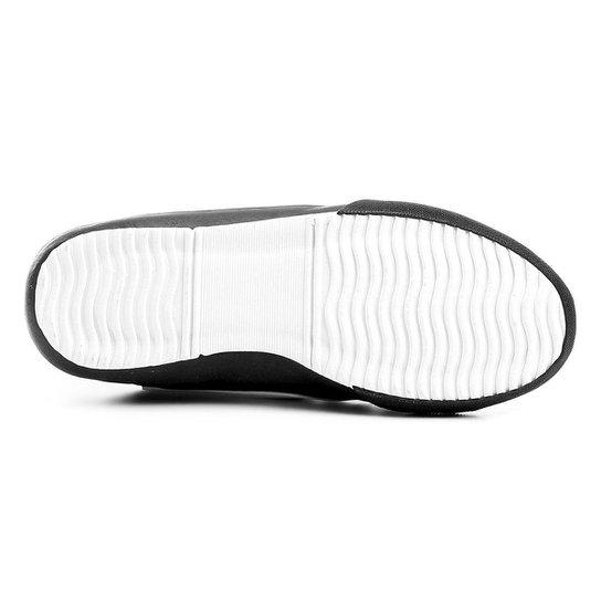 Chuteira Futsal Topper Tem Dominator 3 - Preto+Branco