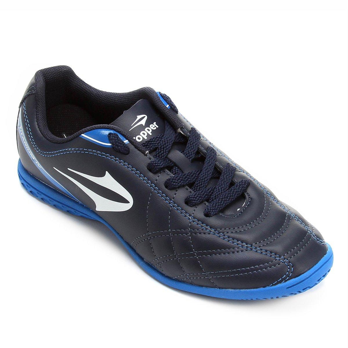 a5bd52d60db9f Chuteira Futsal Topper Titanium 4 Masculina - Compre Agora