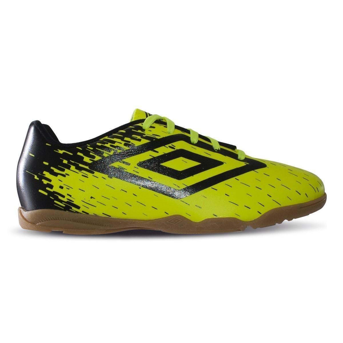 a983d37e7 Chuteira Futsal Umbro Acid Infantil - Verde e Preto - Compre Agora ...