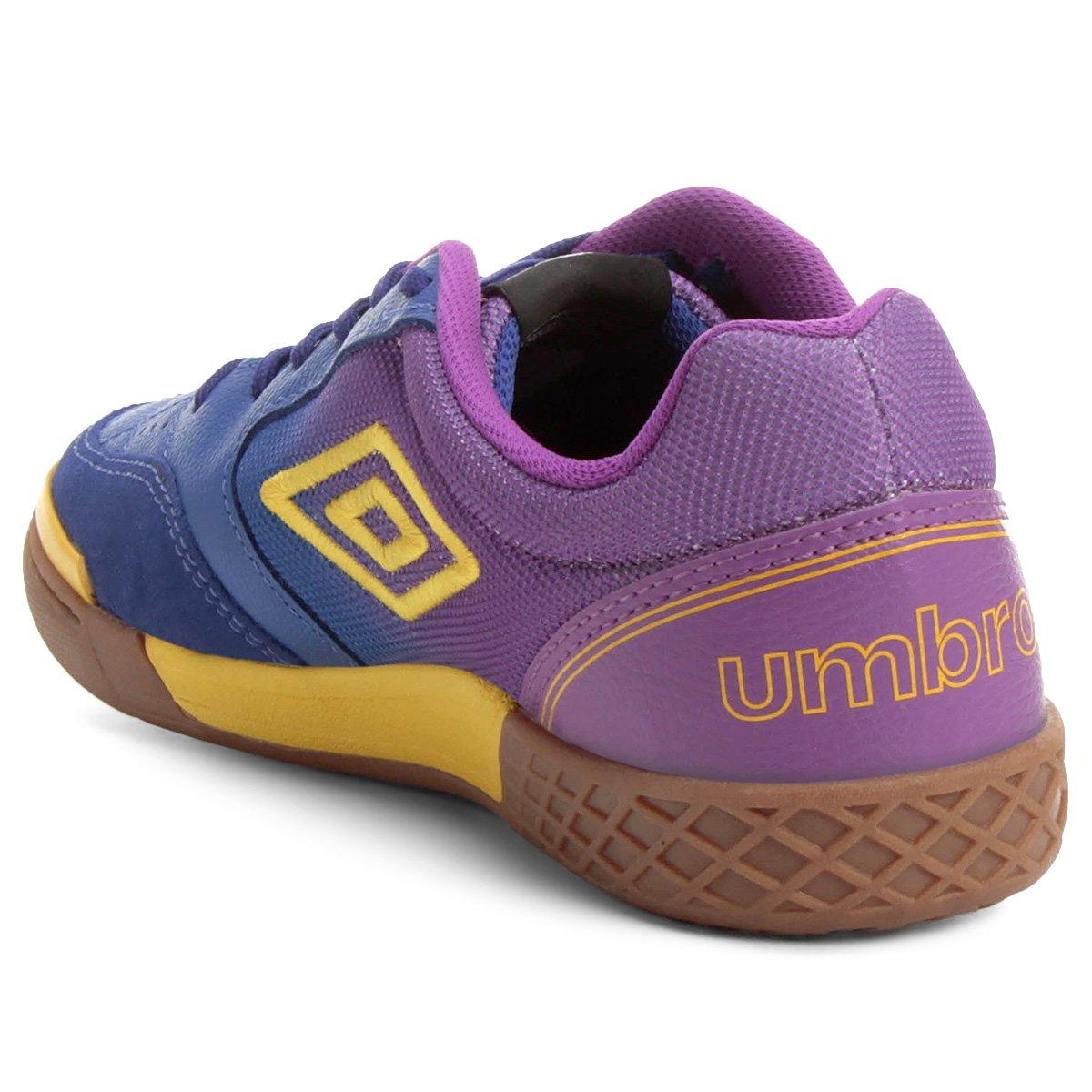 067e4be383 Chuteira Futsal Umbro Box - Azul e Roxo - Compre Agora