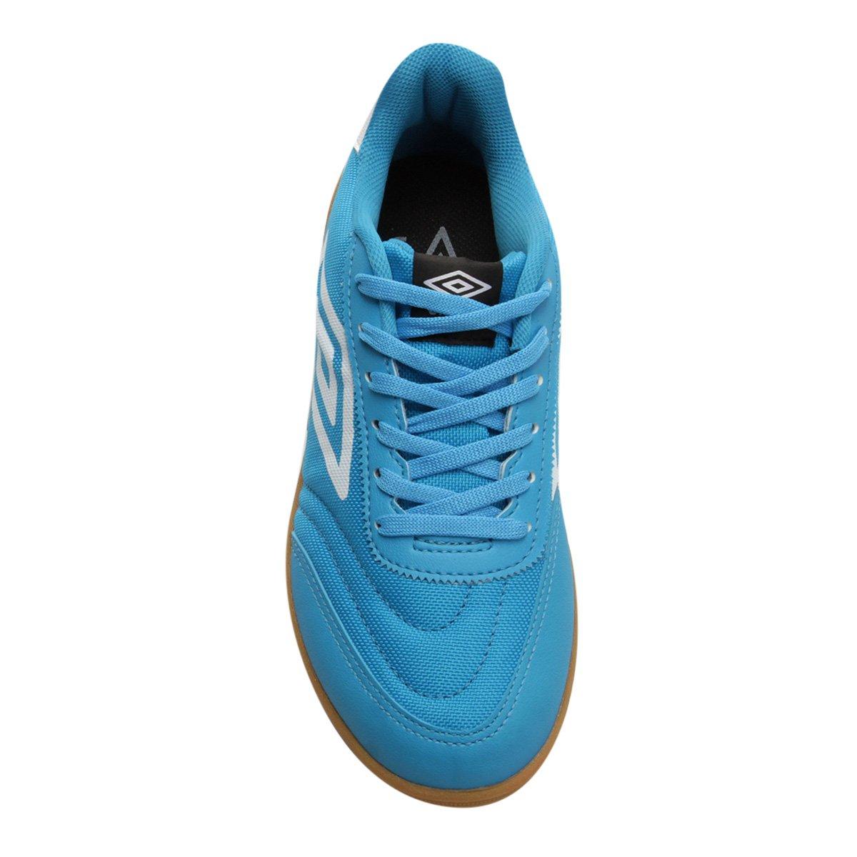 Fiber e Umbro Azul Masculina Futsal Branco Chuteira Futsal Chuteira 0BPq6HI