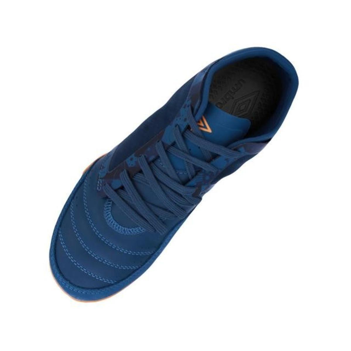 94493377b6 Chuteira Futsal Umbro Indoor Chaleira Masculina - Azul - Compre ...