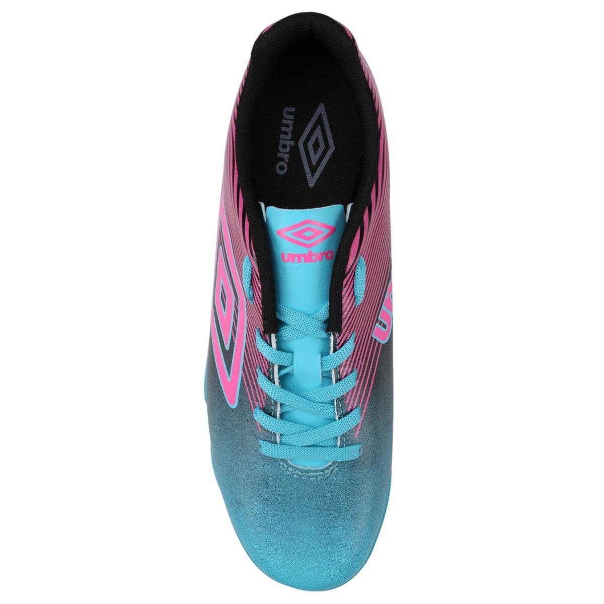 Chuteira Futsal Umbro Slice 3 Masculina - Azul e Rosa - Compre Agora ... f818f1c3ddd28