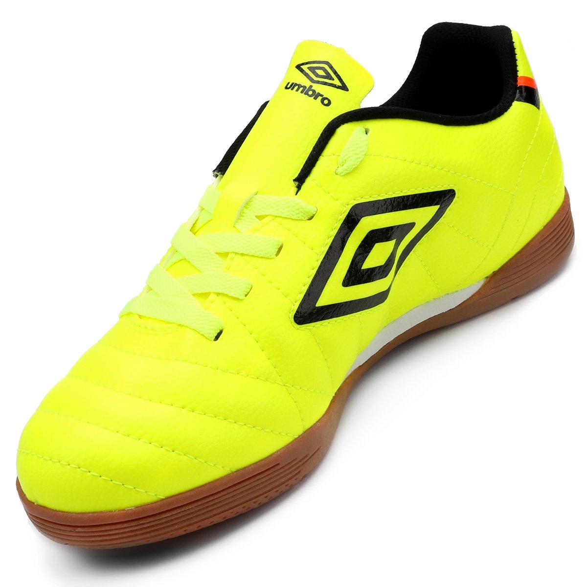 Chuteira Futsal Umbro Speciali Club Masculina - Amarelo Fluorescente ... f5073cfda7348