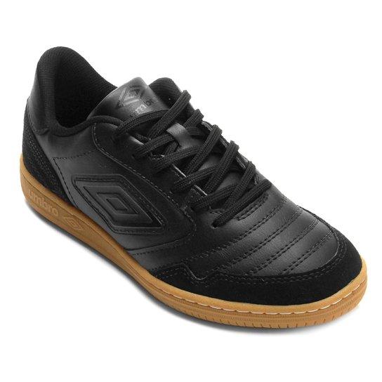 Chuteira Futsal Umbro Speciali F5 - Preto