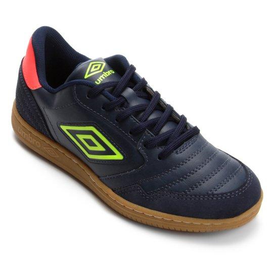 Chuteira Futsal Umbro Speciali F5 - Marinho+Verde