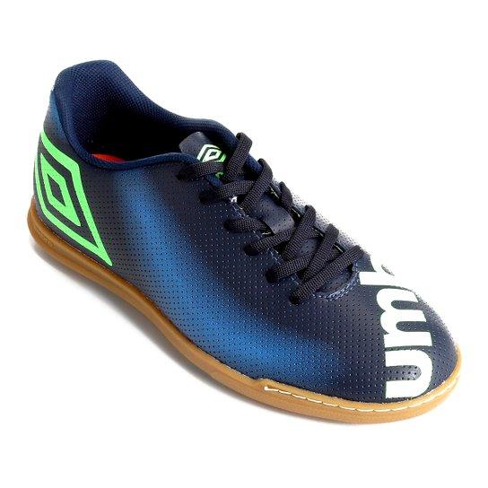 Chuteira Futsal Umbro Spectrum - Marinho+Azul