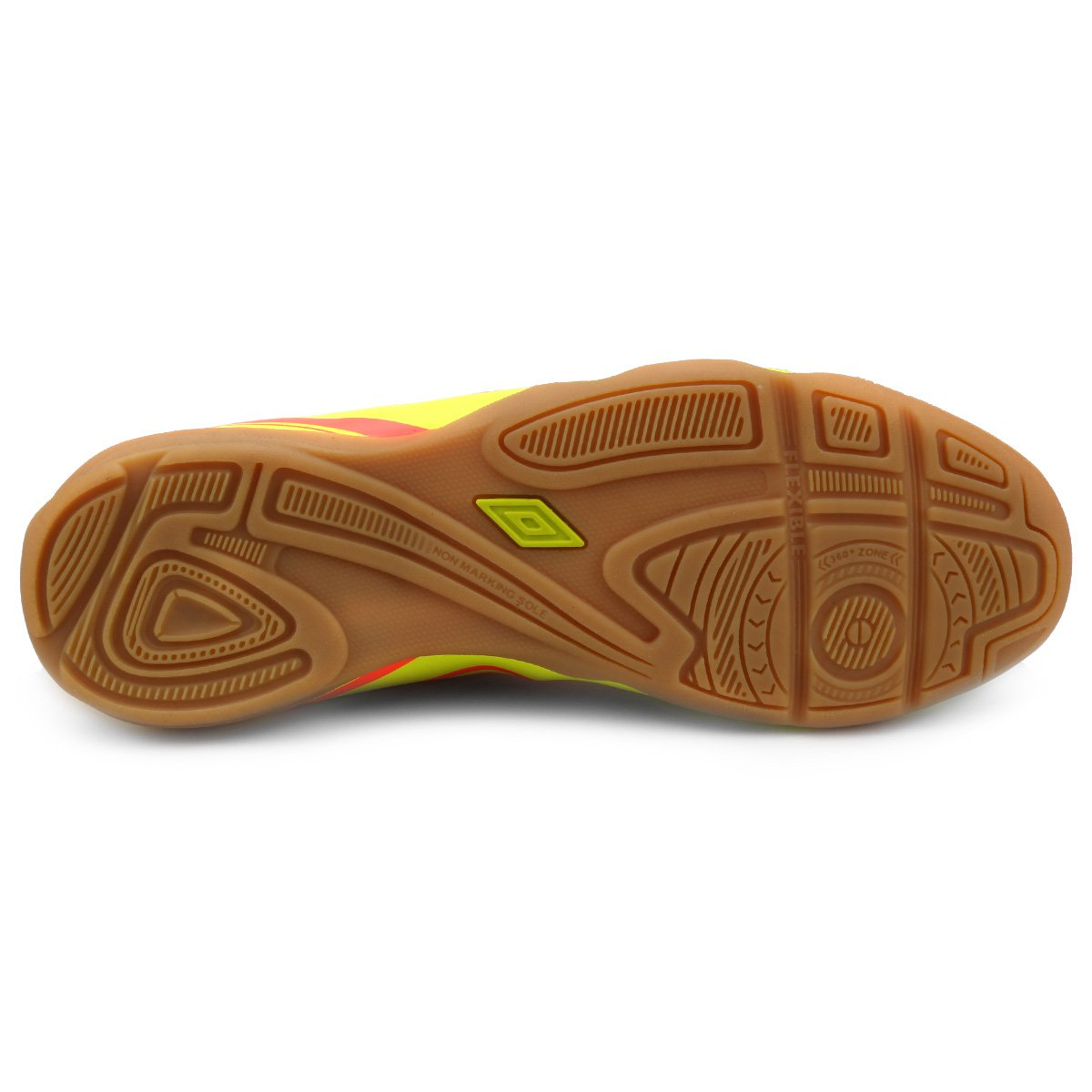 Amarelo Futsal Fluorescente e 3 Chuteira Striker Vermelho Masculina Umbro pXnwUPqd