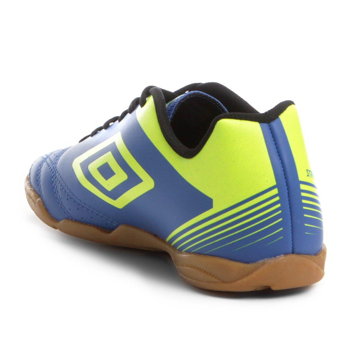 Chuteira Futsal Umbro Striker IV - Azul e Preto - Compre Agora ... 17ded5f7af9c1