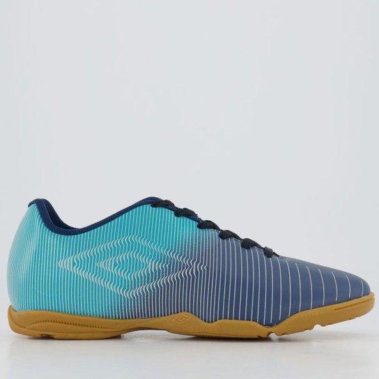 Chuteira Futsal Umbro Vibe - Azul
