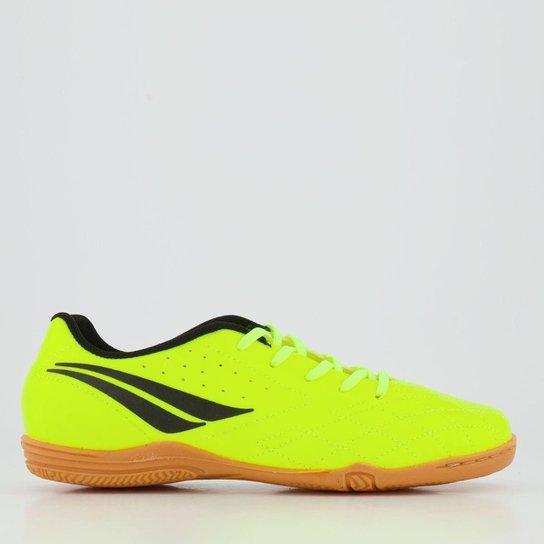 Chuteira Infantil Futsal Penalty Americas IX - Amarelo