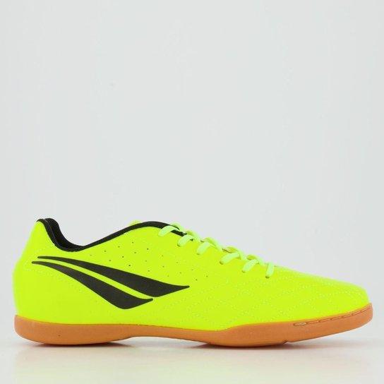 Chuteira Infantil Futsal Penalty Americas IX - Amarelo+Preto