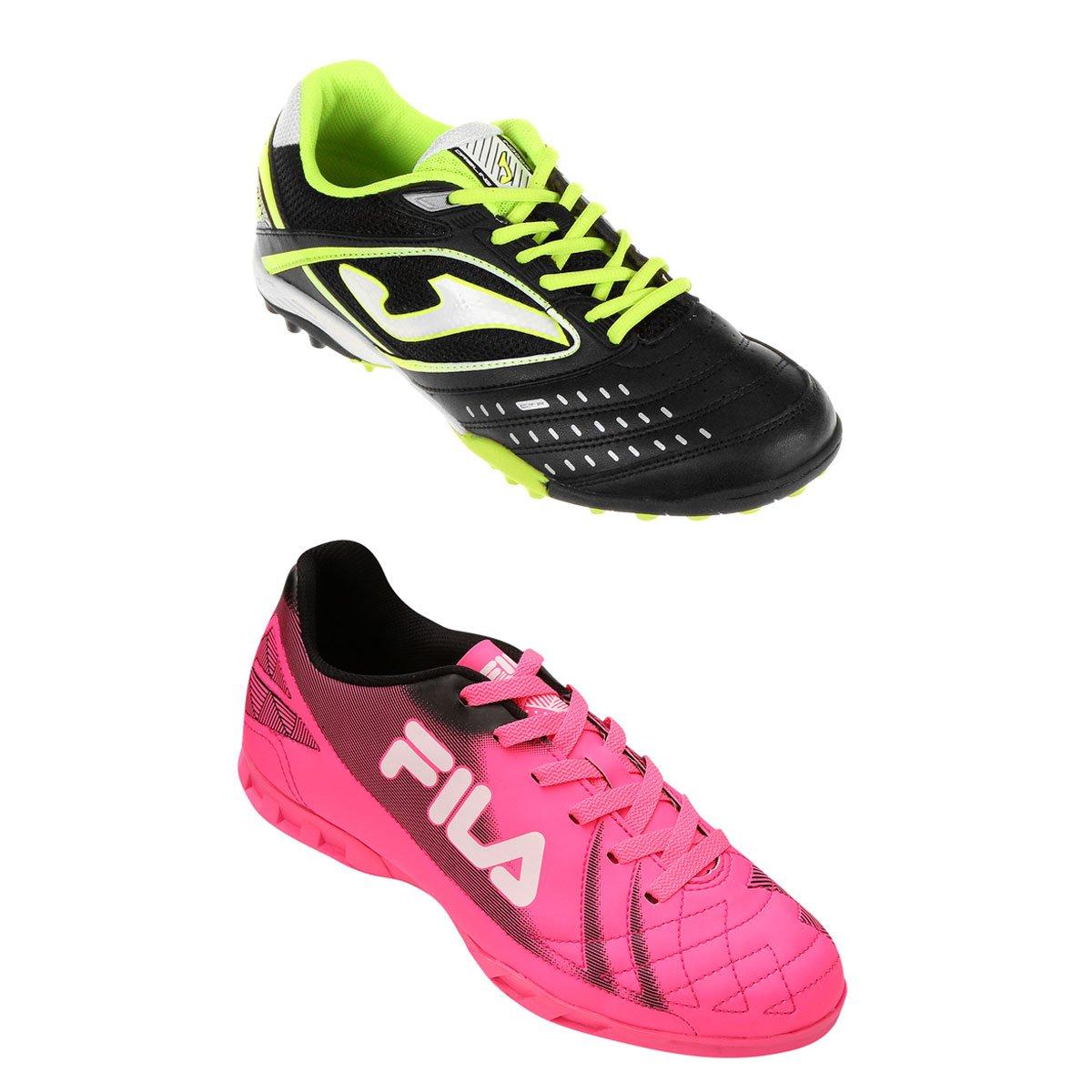 a1b6703522 Chuteira Joma Dribling Society + Chuteira Fila Classic Futsal - Compre  Agora