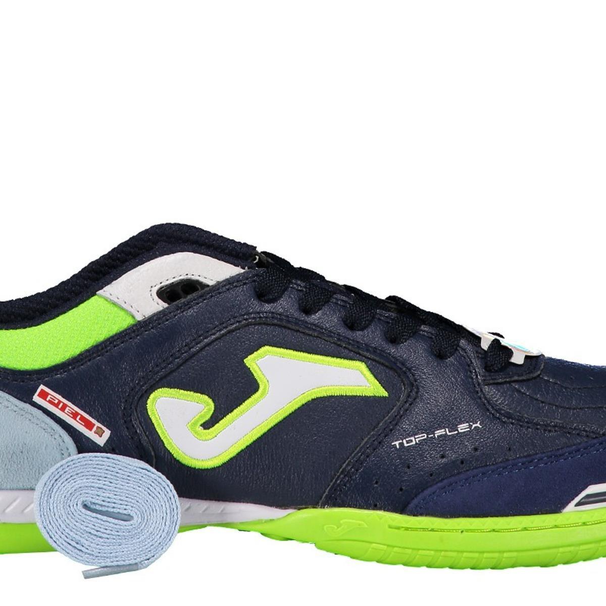 d9a06faa68 ... Chuteira Joma Top Flex Futsal Masculina. Chuteira Joma Top Flex Futsal  Masculina - Marinho+Verde Limão