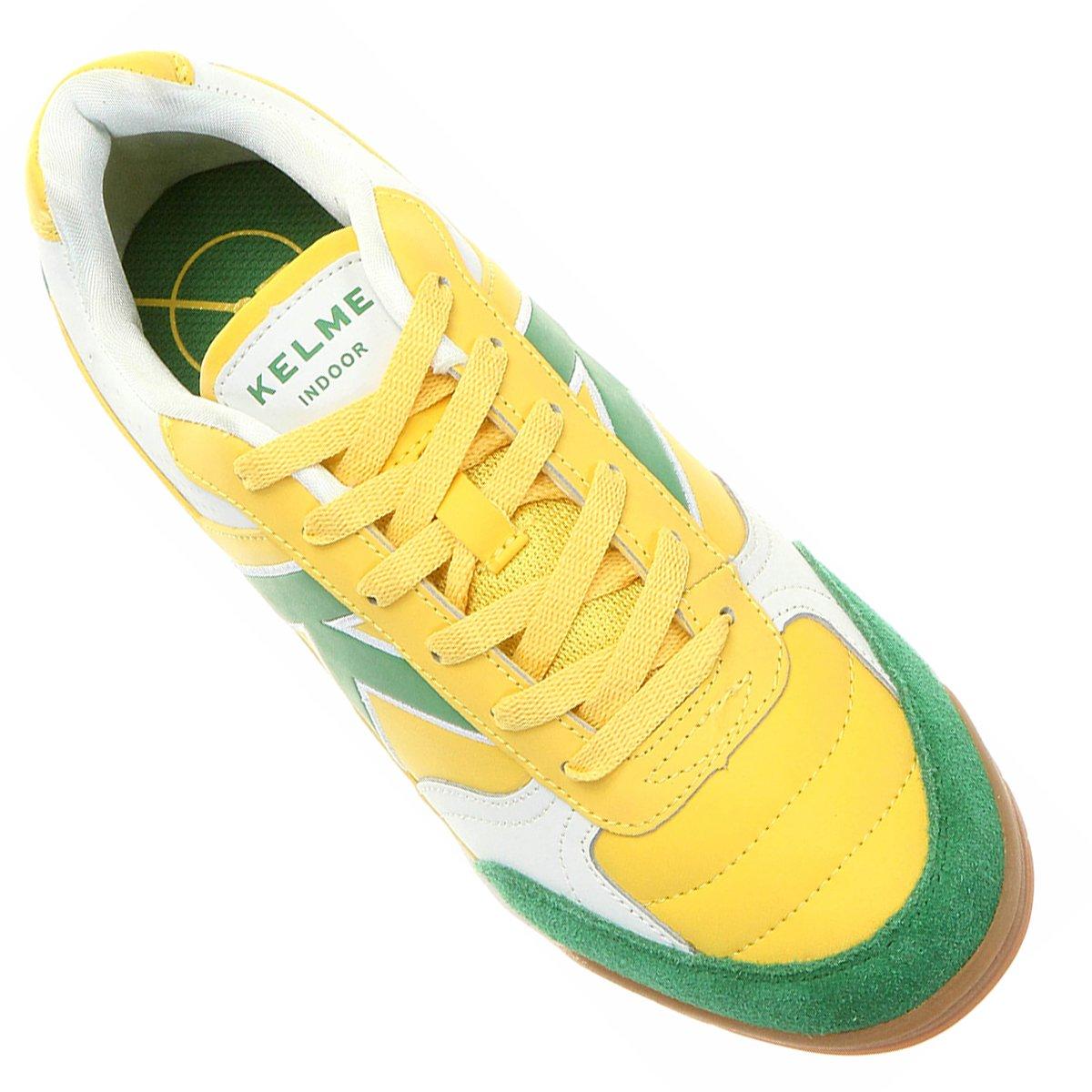 b12c61d3b1 ... Chuteira Kelme Fultac Futsal. Chuteira Kelme Fultac Futsal - Amarelo+ Verde
