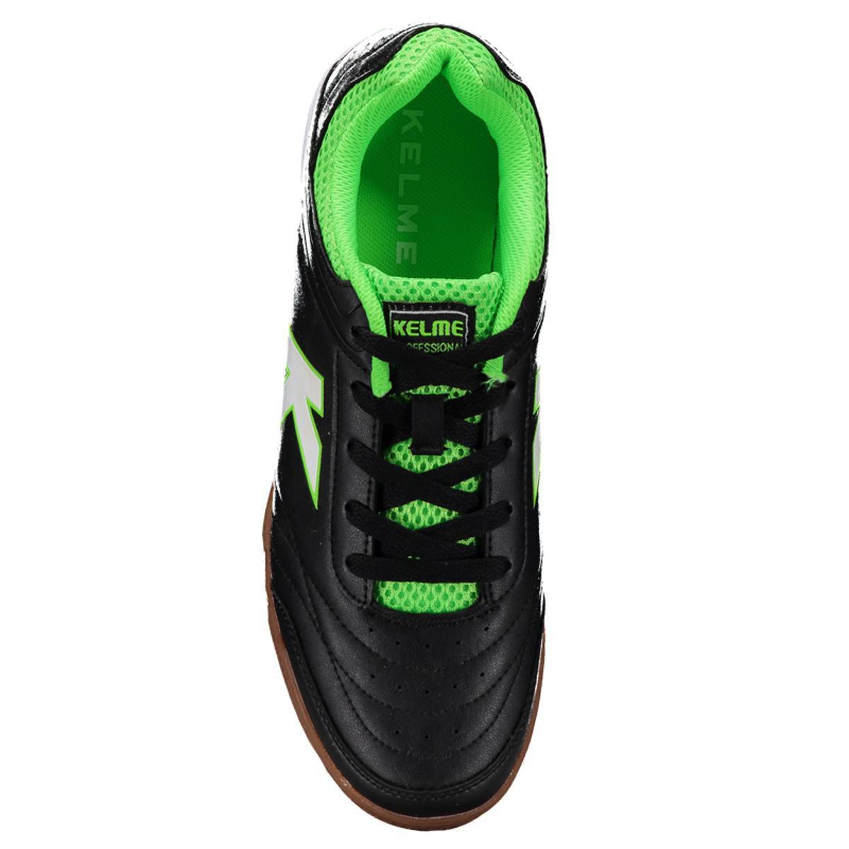Chuteira Kelme Precision Trn Futsal - Preto - Compre Agora  afefdded40637