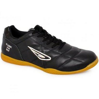 14c74231f3 Chuteira Masculina Futsal Diavolo Classic - Preto e Prata - Compre Agora