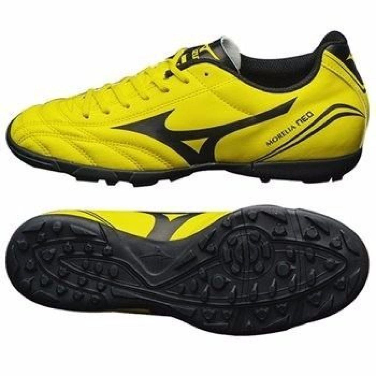 Chuteira Mizuno Morelia Neo Club - Amarelo e Preto - Compre Agora ... 405fd41554371