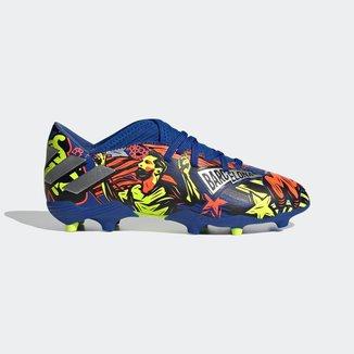 Chuteira Nemeziz Messi 19.3 Campo Azul Adidas