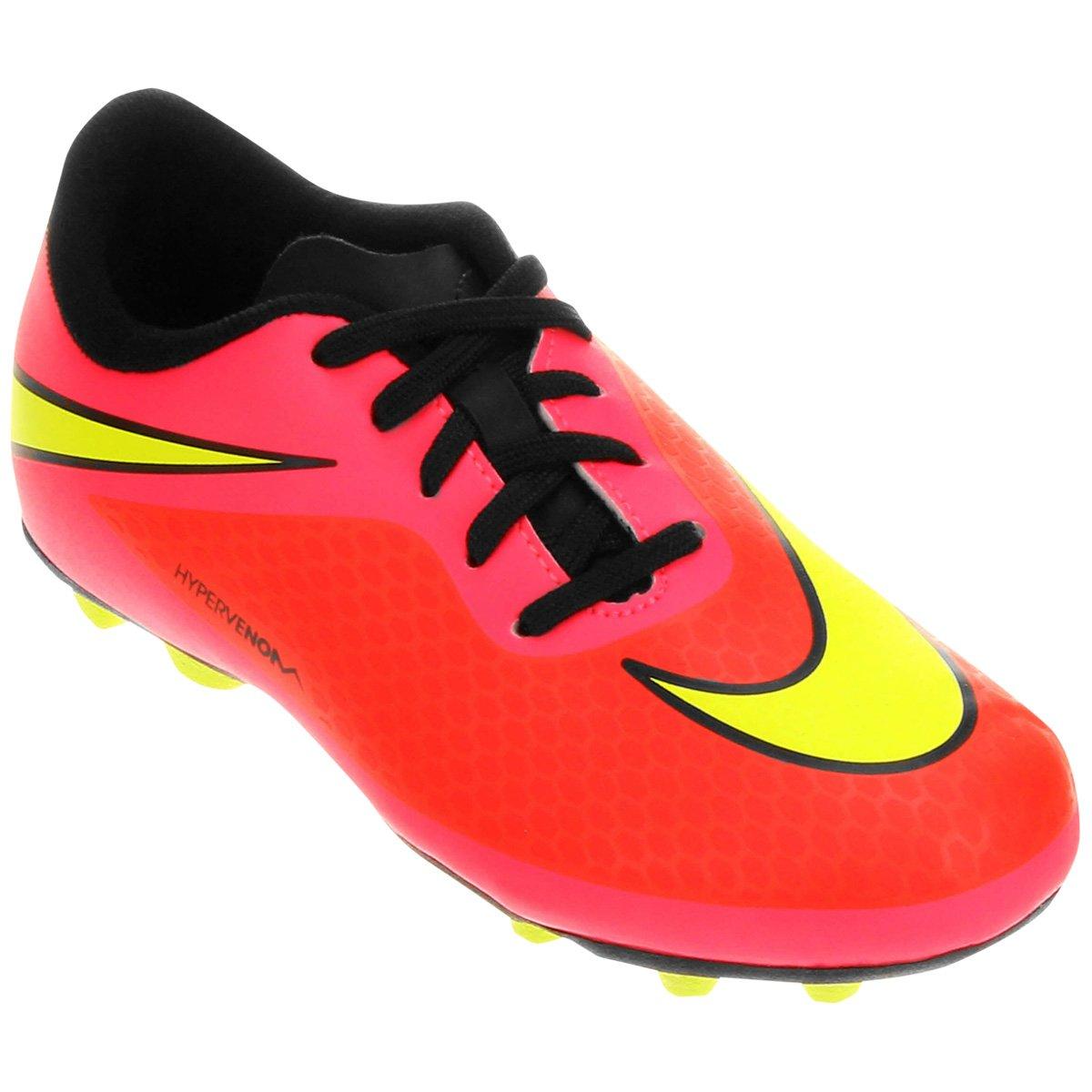 Chuteira Nike Hypervenom Phade FG-R Juvenil - Compre Agora  9b06d0e94dbe0