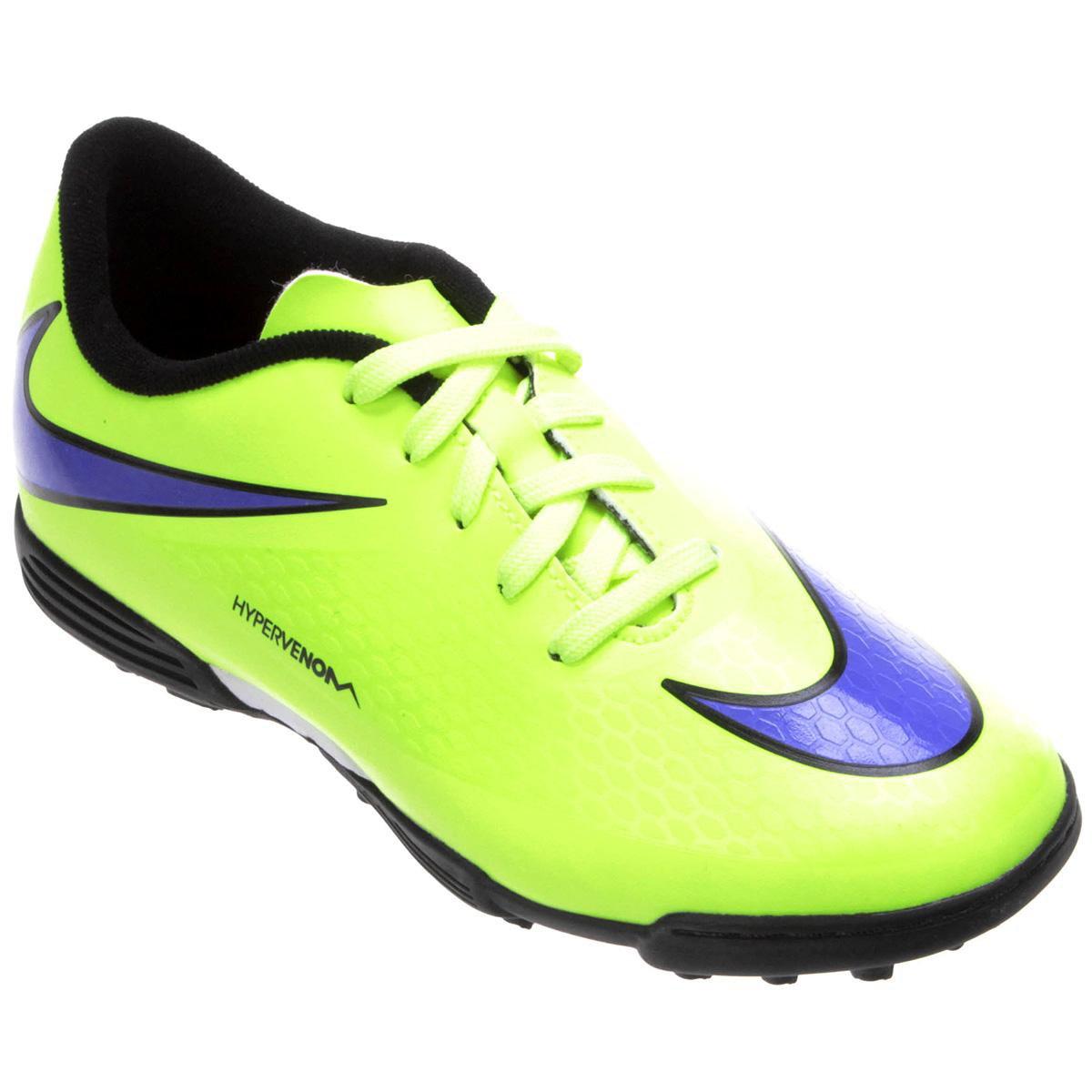 Chuteira Nike Hypervenom Phade TF Juvenil - Compre Agora  b92a65fc9348c
