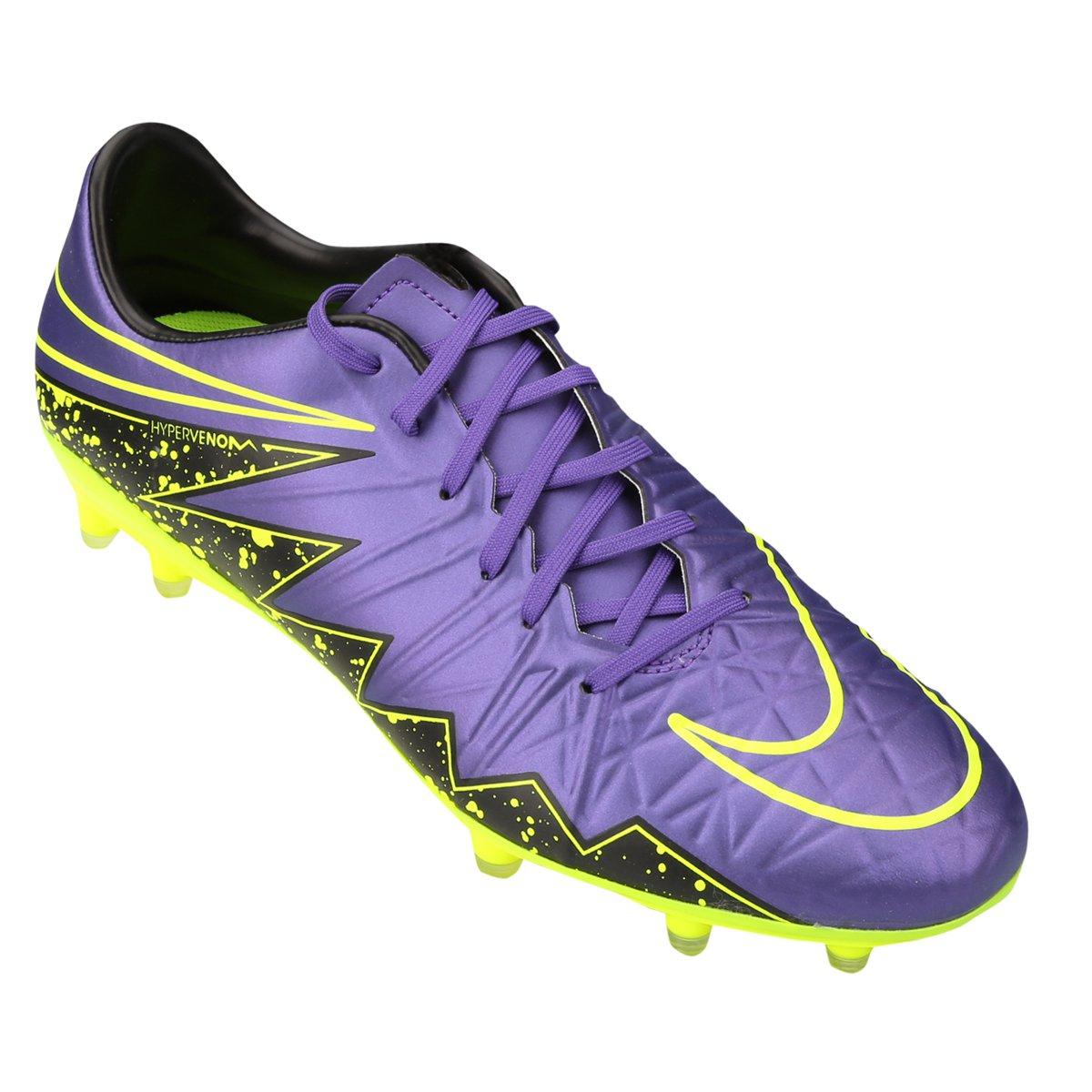 Chuteira Nike Hypervenom Phatal 2 FG - Compre Agora  2eada2908e99a