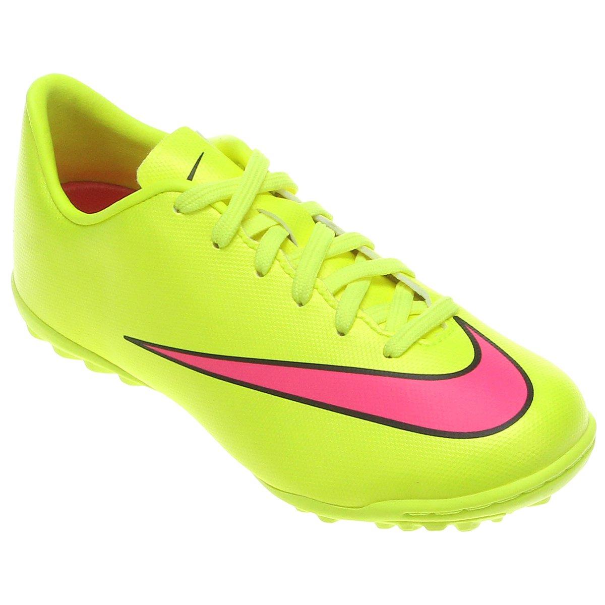 Chuteira Nike Mercurial Victory 5 TF Society Infantil - Compre Agora ... a36a7dc94ac60