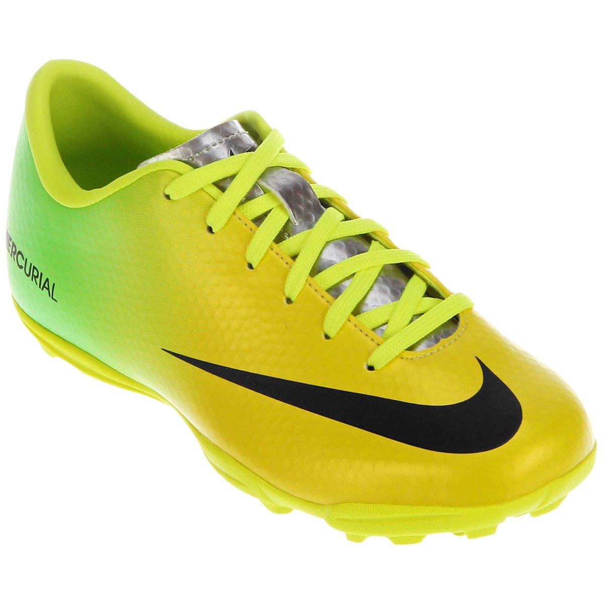 Chuteira Nike Mercurial Victory IV TF Infantil - Compre Agora  d209373fc4abb