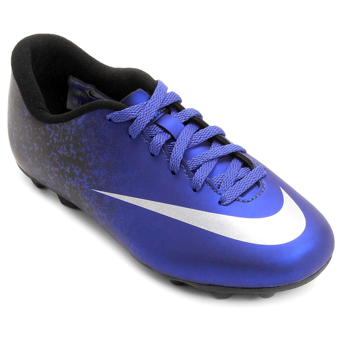 Chuteira Nike Mercurial Vortex 2 CR7 FG-R Campo Infantil - Compre Agora  250d5d89bc29f