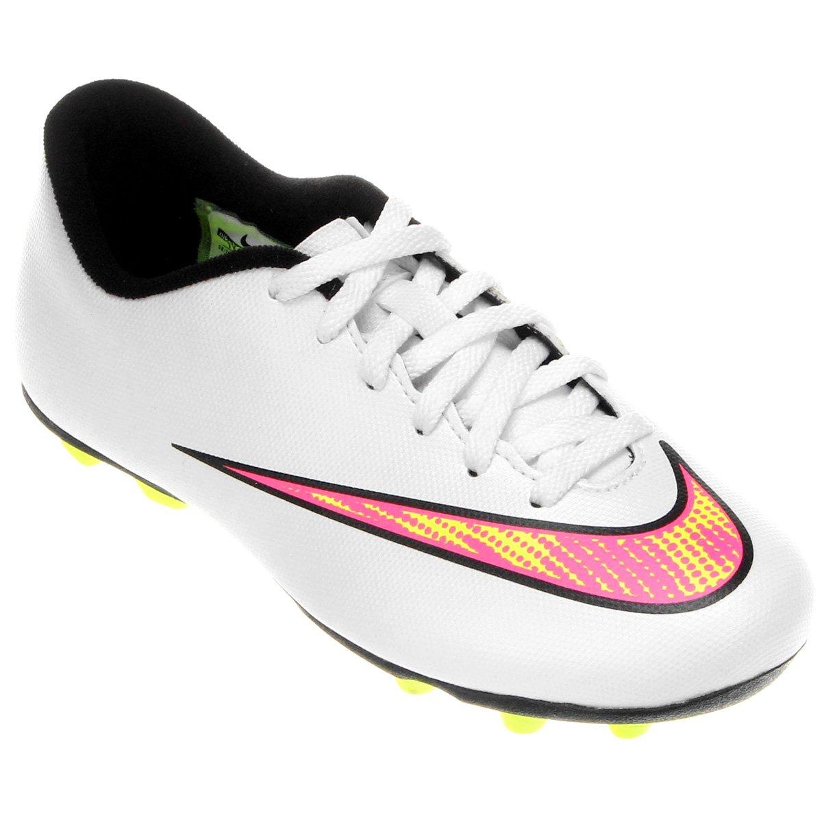 b3342f55d66d3 Chuteira Nike Mercurial Vortex 2 FG Campo Infantil - Compre Agora ...