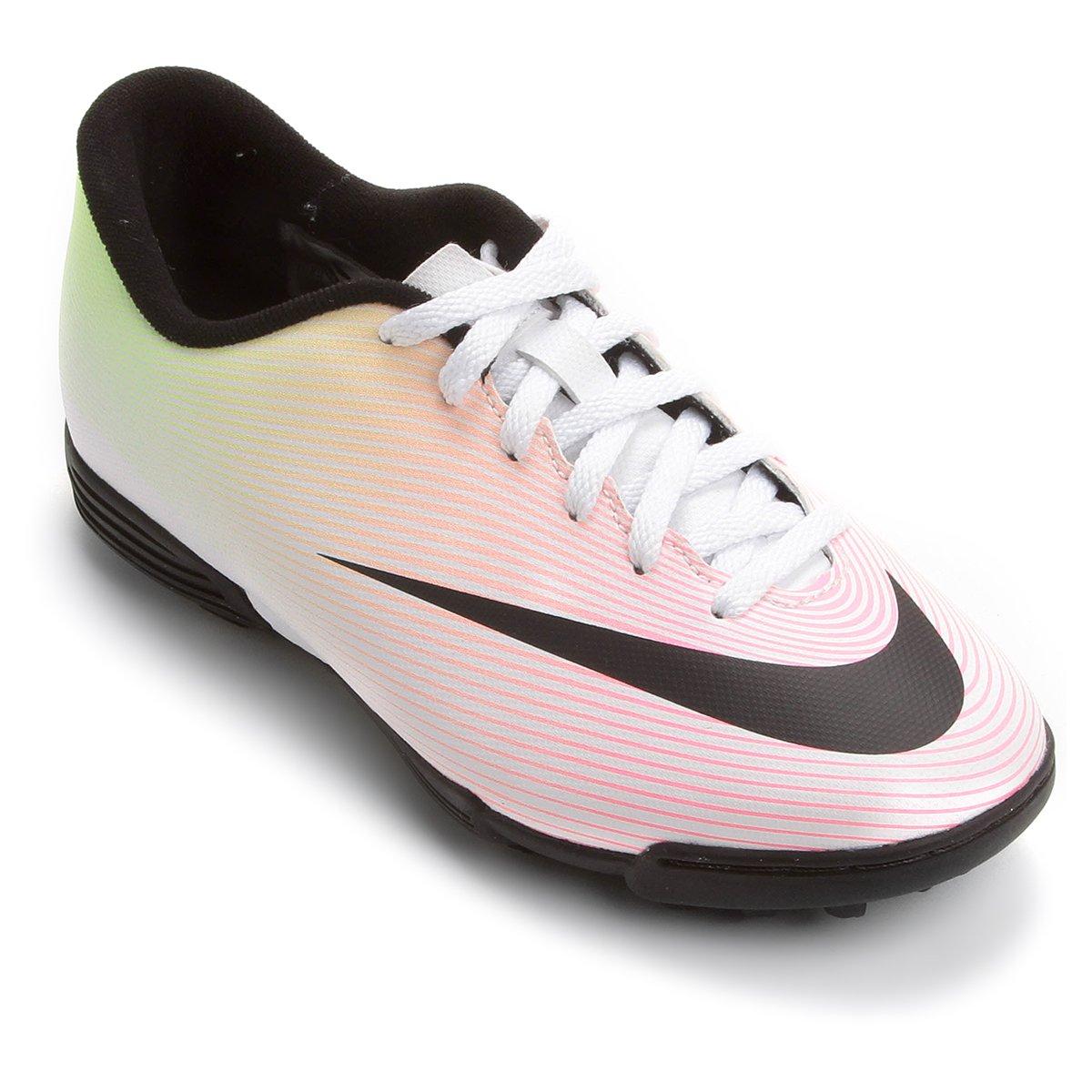 225aa6c1dc Chuteira Nike Mercurial Vortex 2 TF Society Infantil - Compre Agora ...