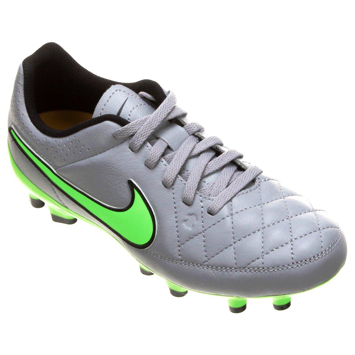 78fa80eaf9 Chuteira Nike Tiempo Gênio Leather FG Campo Infantil - Compre Agora ...