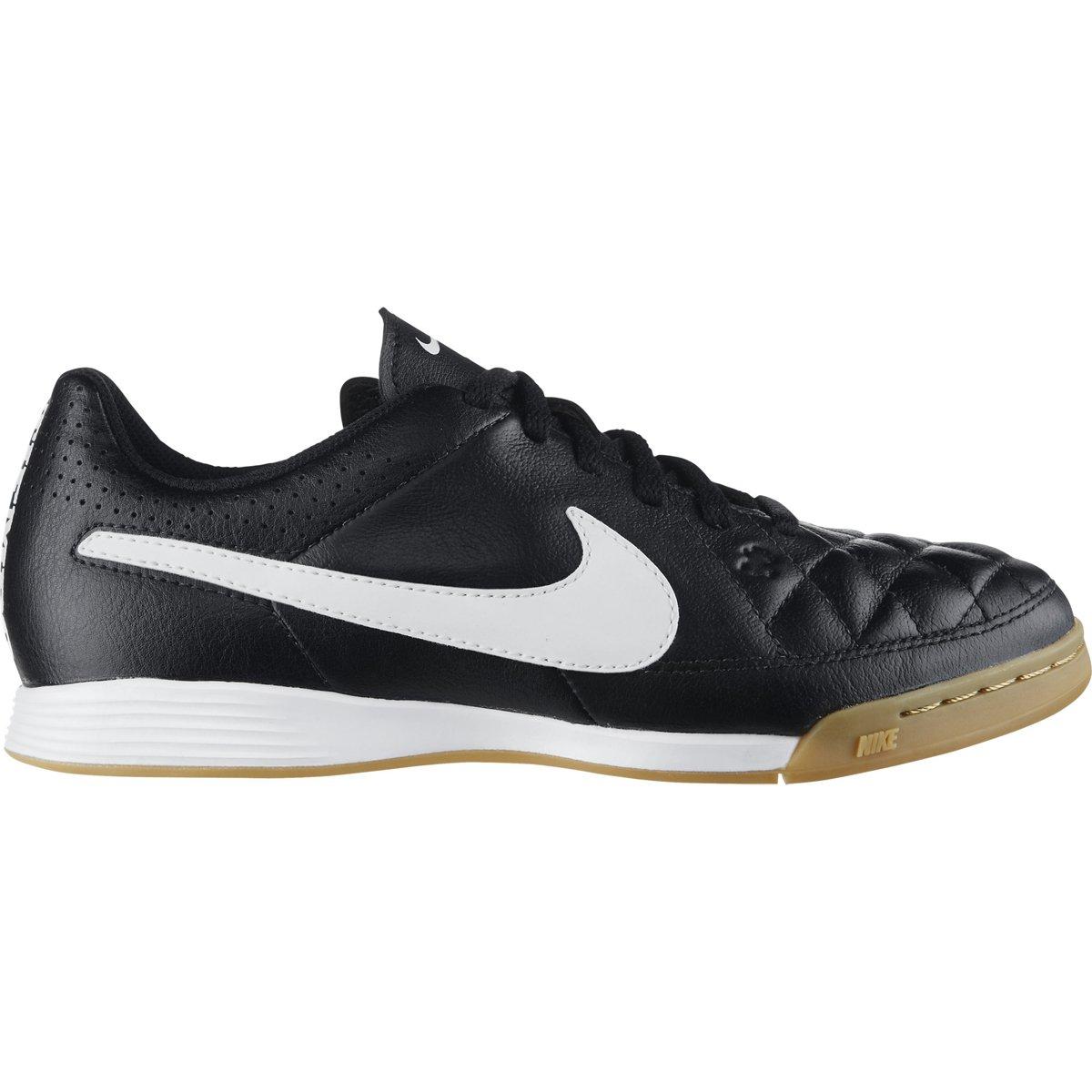 Chuteira Nike Tiempo Gênio Leather IC Futsal Infantil - Compre Agora ... 79bd2e517e8fb