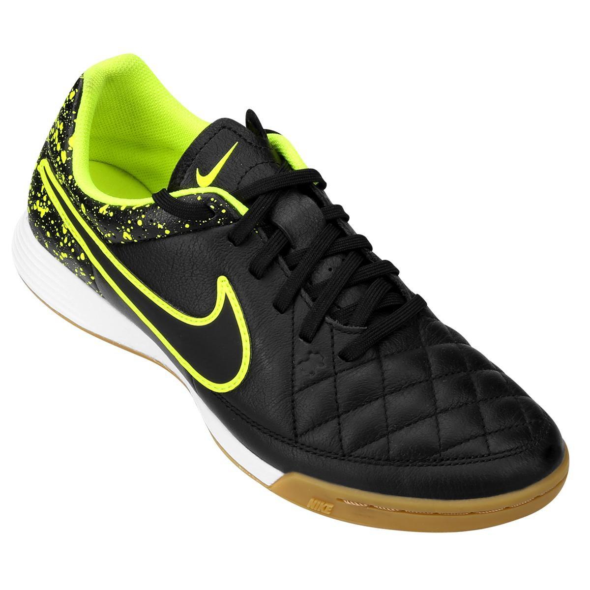 9040d93365 Chuteira Nike Tiempo Gênio Leather IC Futsal - Compre Agora