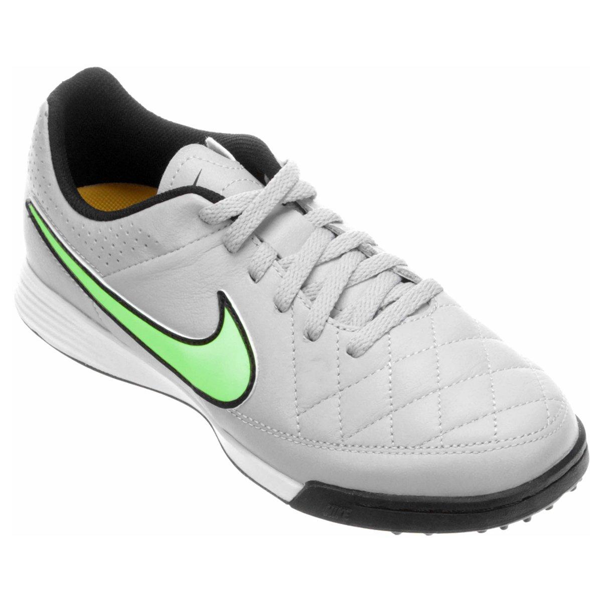 Chuteira Nike Tiempo Gênio Leather TF Society Infantil - Compre Agora  c50cce4d3e5b3